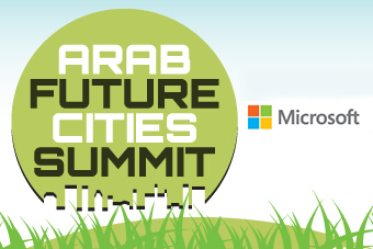 Gold Sponsor Microsoft to showcase their CityNext approach to Doha at the Arab Future Cities Summit Qatar