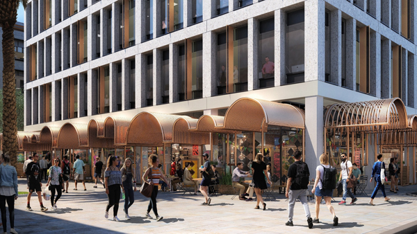 Kings Square Redevelopment in first stages